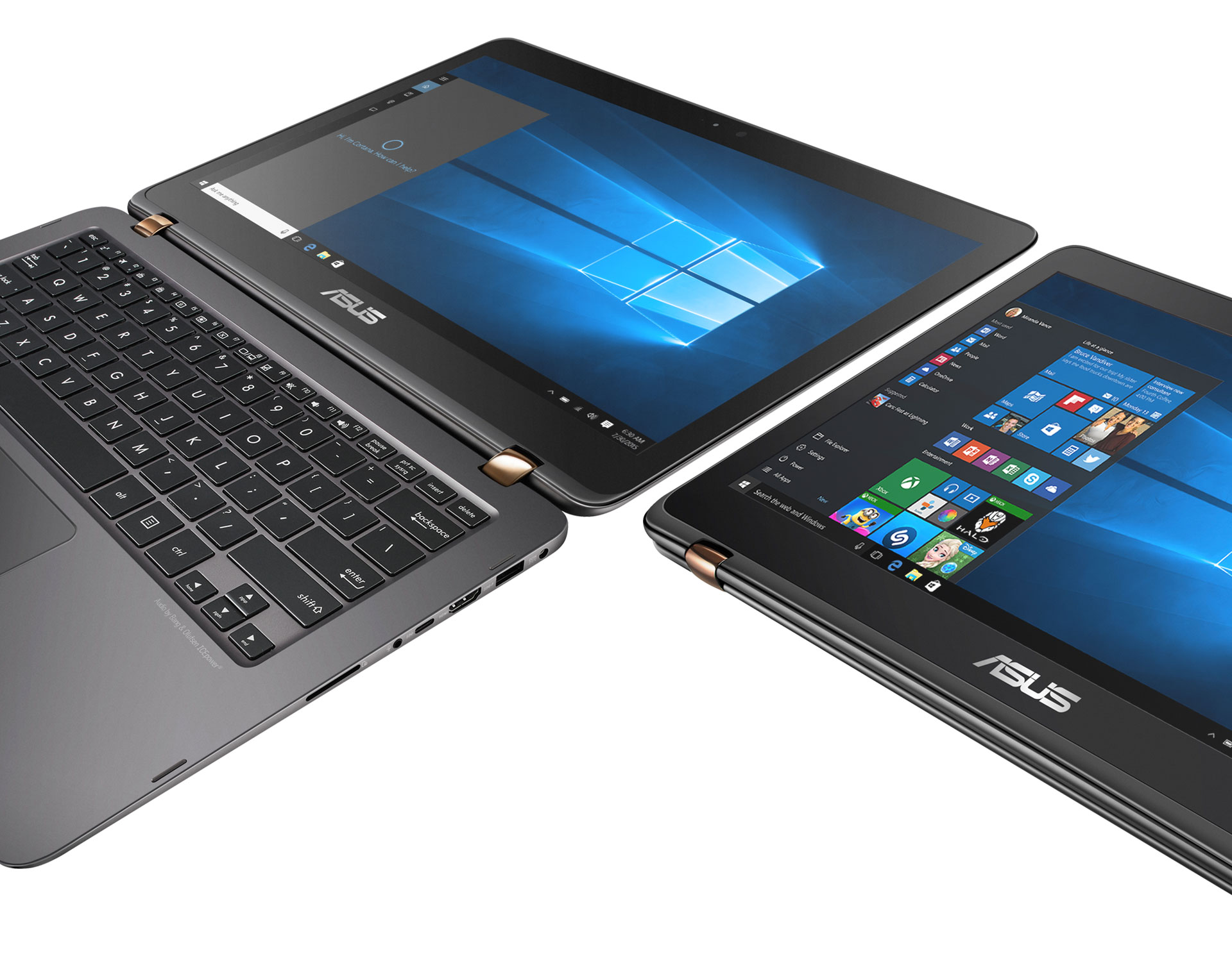 ASUS Zenbook Flip For Higher Mobility And Comfort
