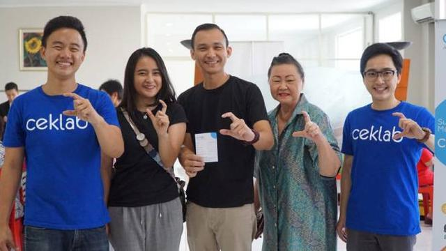 Ceklab Application Helps Indonesians Perform 8,000 Lab Tests