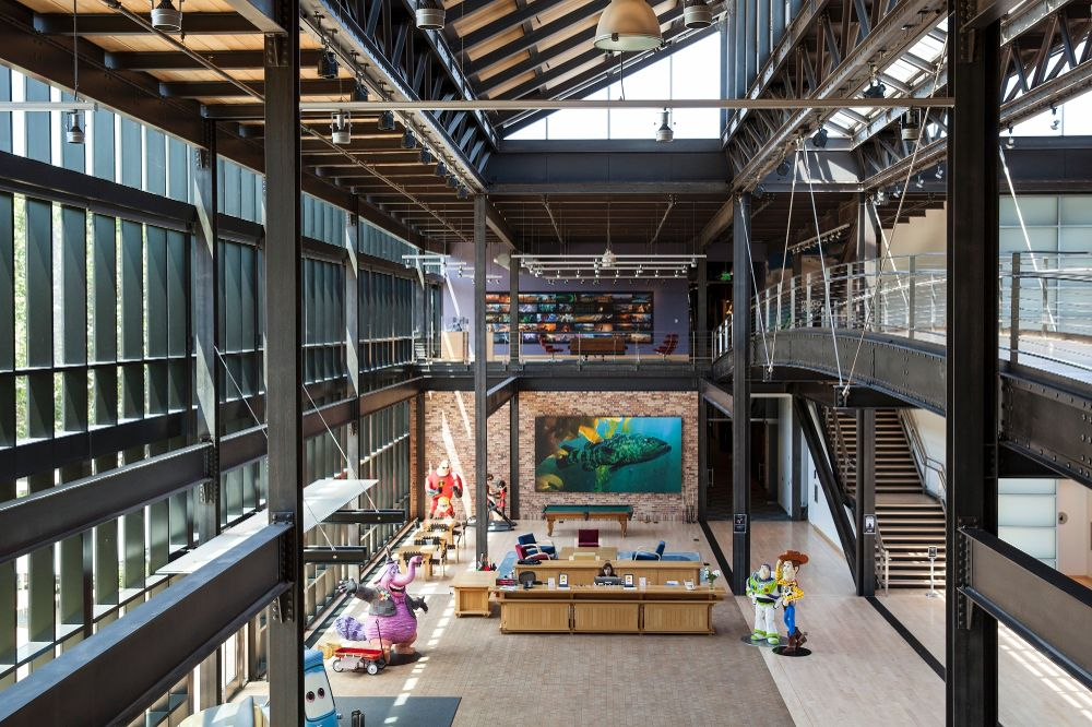 Discover What It's Like to Have a Pixar Office Tour