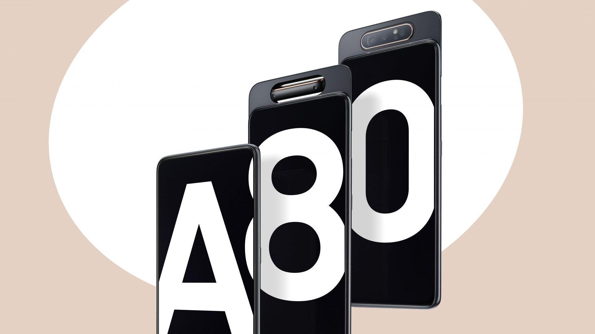 cellphone technology Samsung Galaxy A80 gadgets
