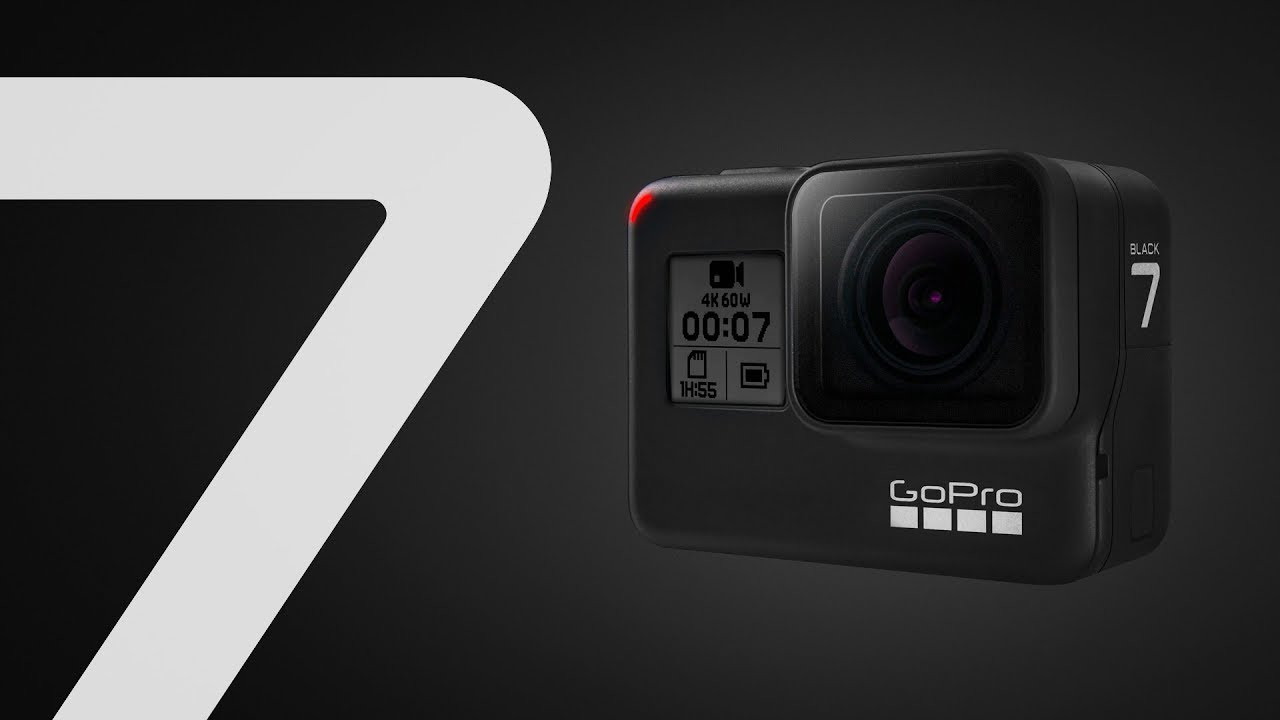GoPro Hero 7 Black, Best Action Camera and Stabilizer