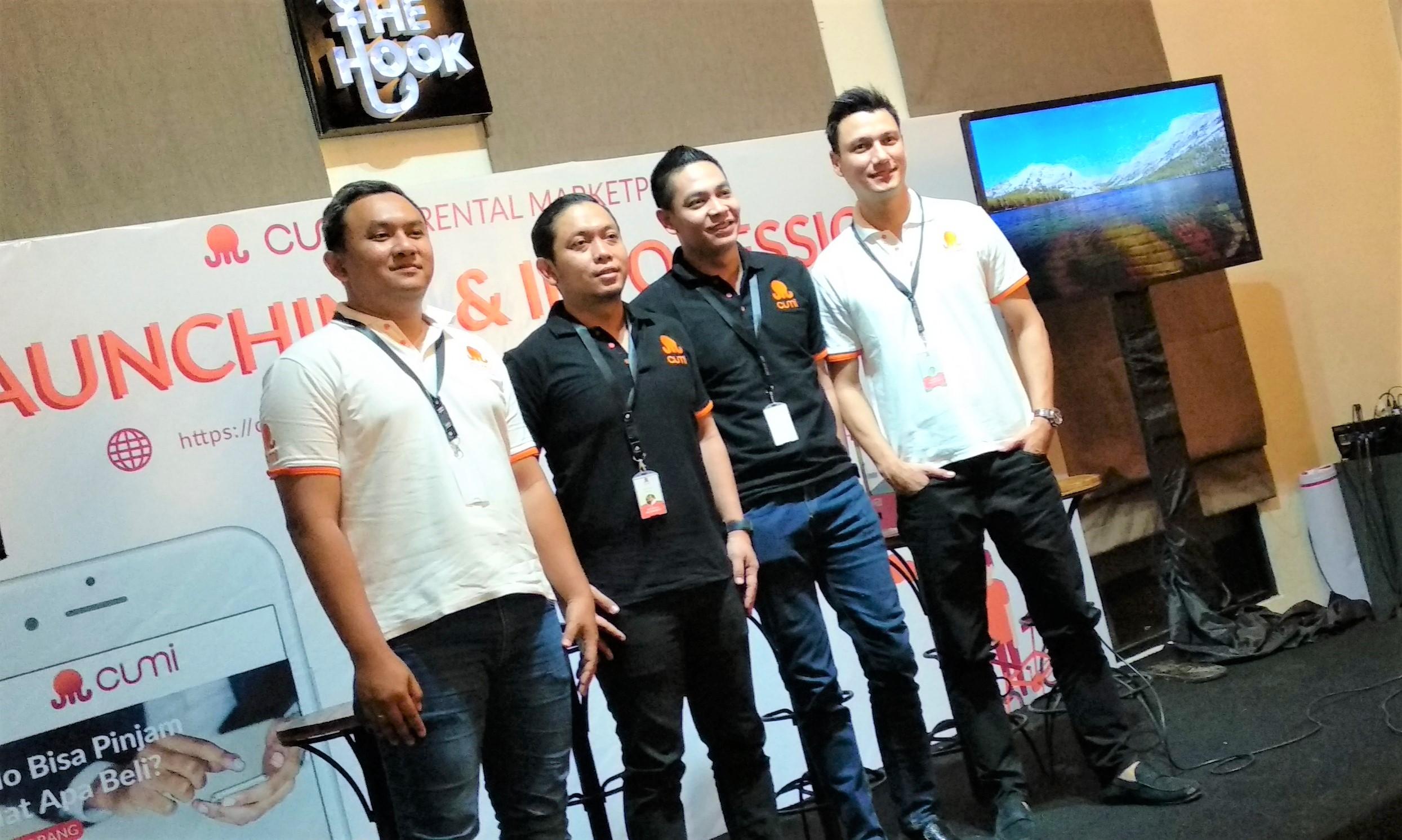 CUMI East Ventures startup Funding Seed Indonesia