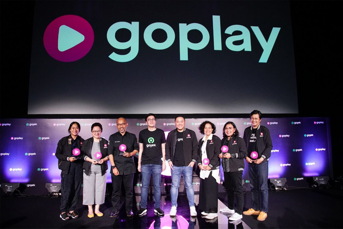 Gojek Goplay startup Indonesia Decacorn video-on-demand service