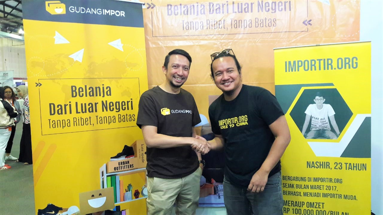 startup gudang import importir indonesia