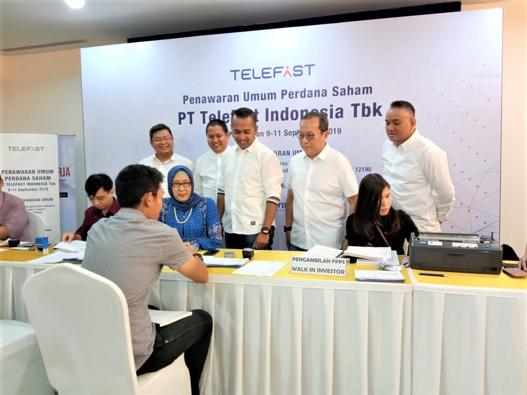 Telefast Indonesia shares market indonesian stock
