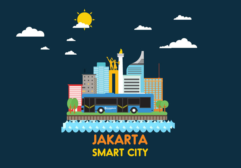 jakarta government startup smart city