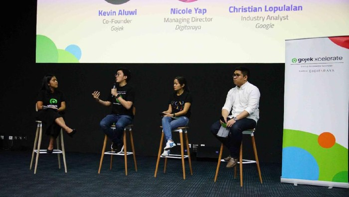 gojek startup indonesia xcelerate program
