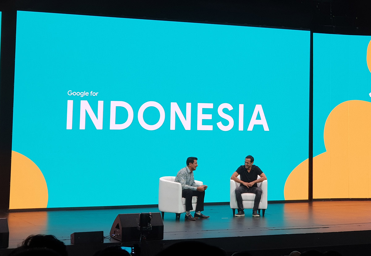 Nadiem to Google and Startups: Don't Be Worry to Ask Something to the Government