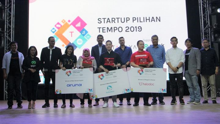 Aruna, Bobobox, and Halodoc Won 2019 Tempo's Selected Startups