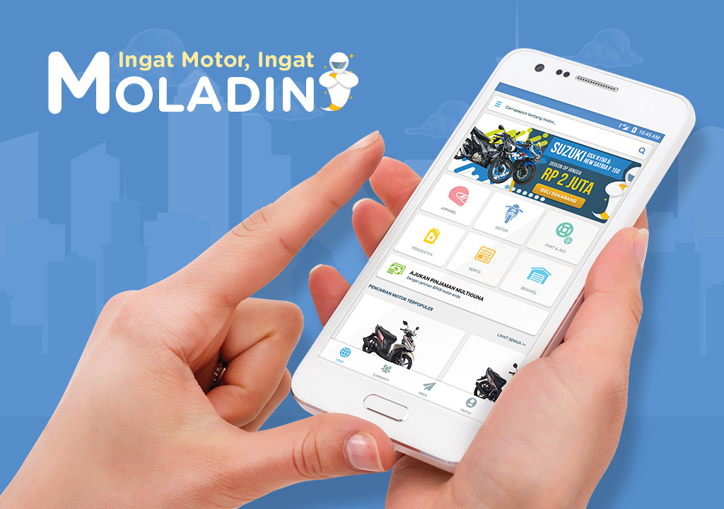 Moladin, a Startup That Offers Various Motorcycle Information