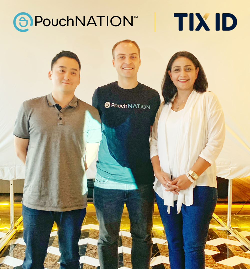 Tix ID Invests in Singapore's Entertainment Startup, PouchNation