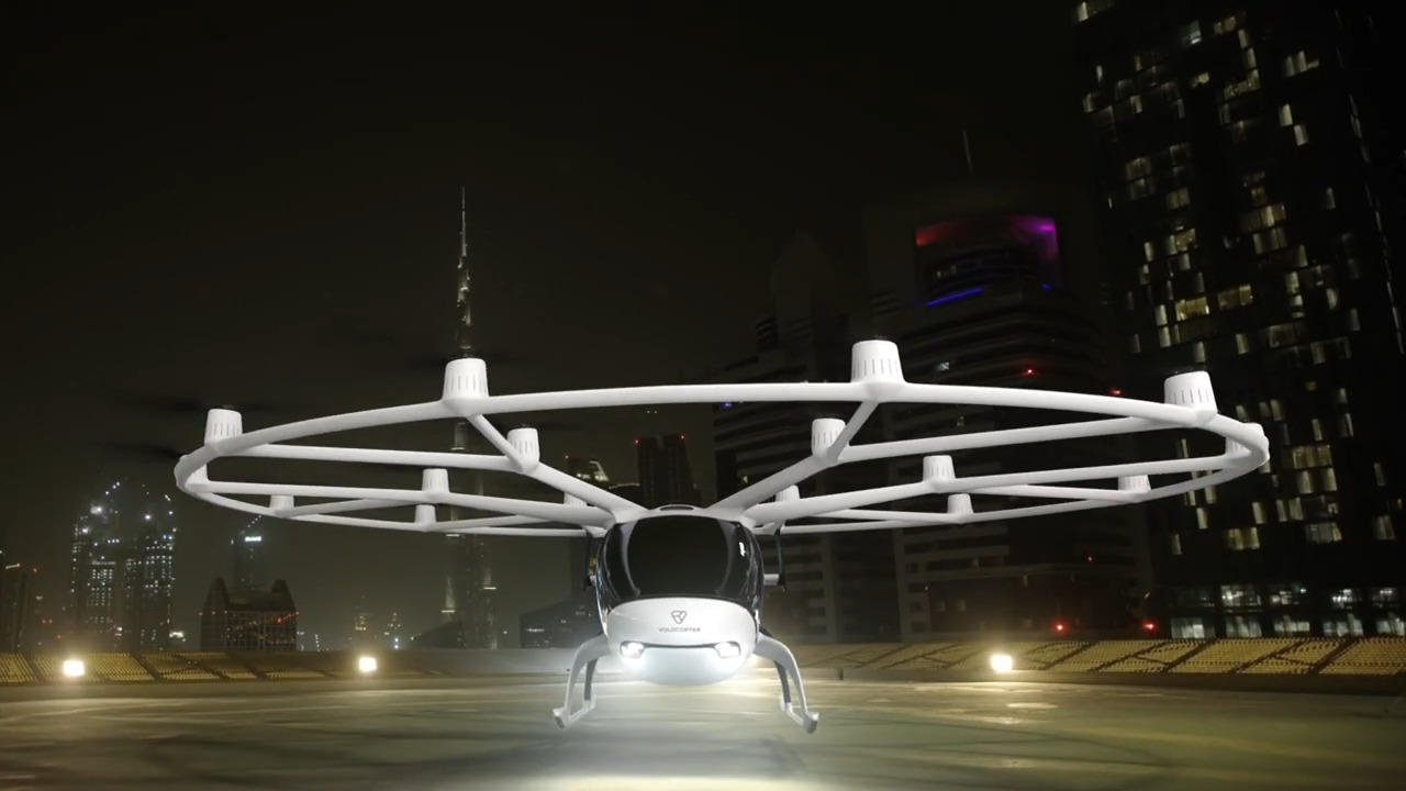 Grab Teamed-Up with Volocopter, Testing Air Taxi Services