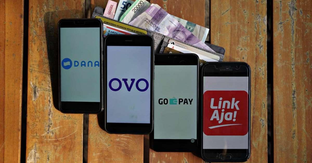 Not to Use Cash, DANA, GoPay & LinkAja Harvest Transactions