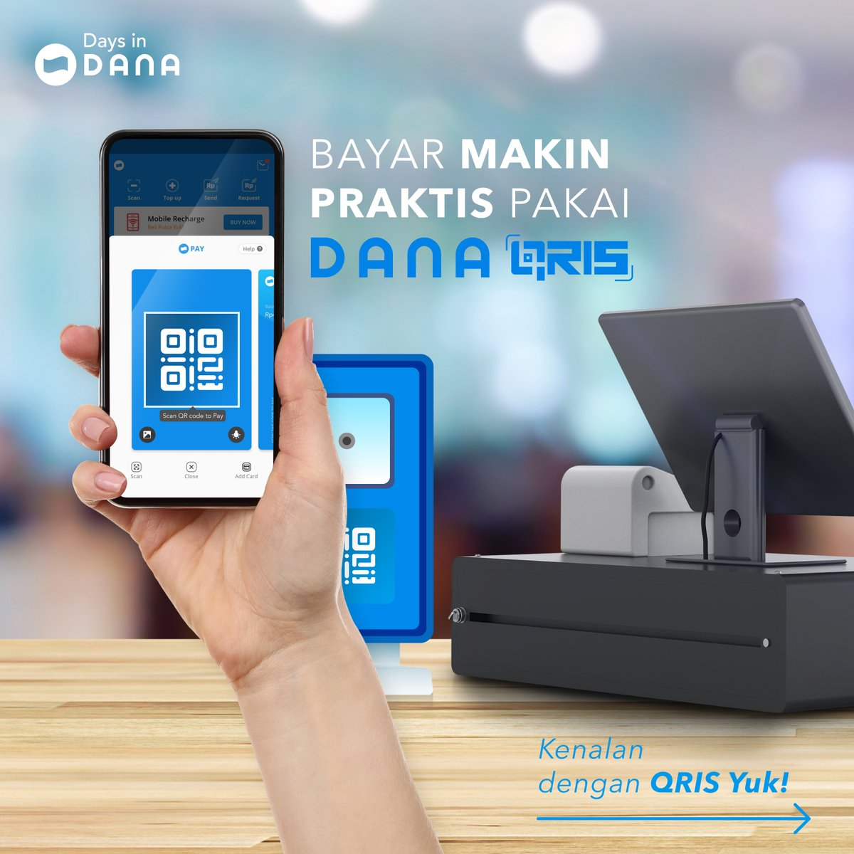 DANA Aiming School Tuition Payment and Retribution