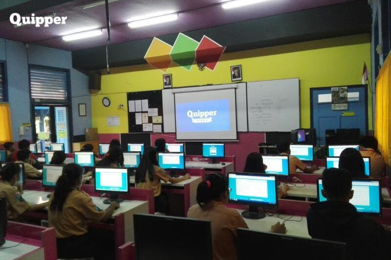 160 Thousand Students Take a National Tryout Online from Quipper