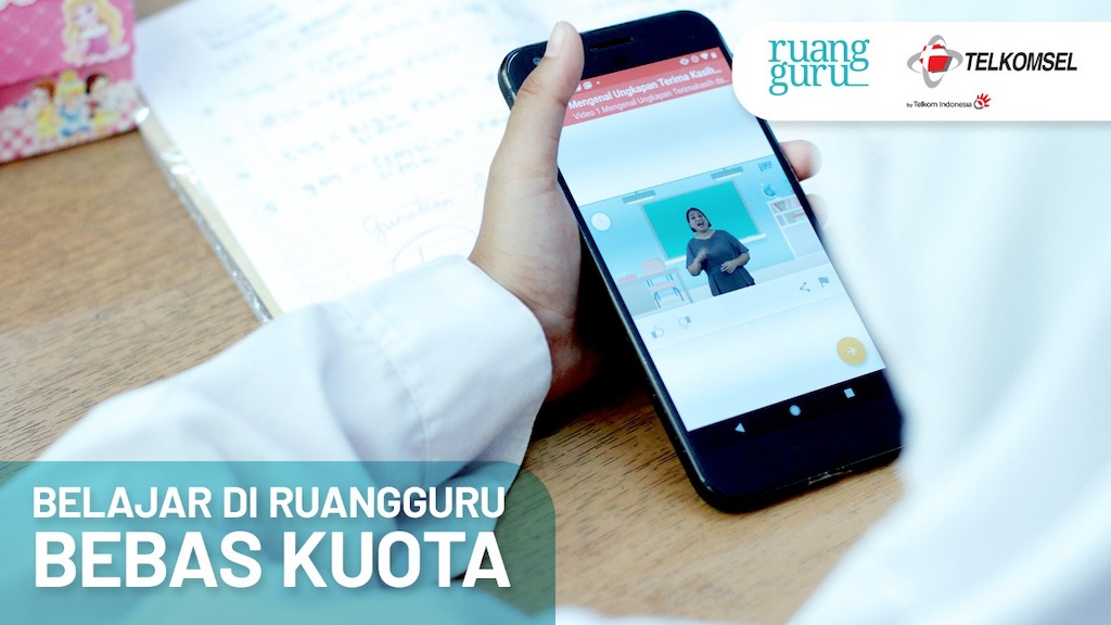 Ruangguru Opens Free Online School to Help Covid-19 Affected Students