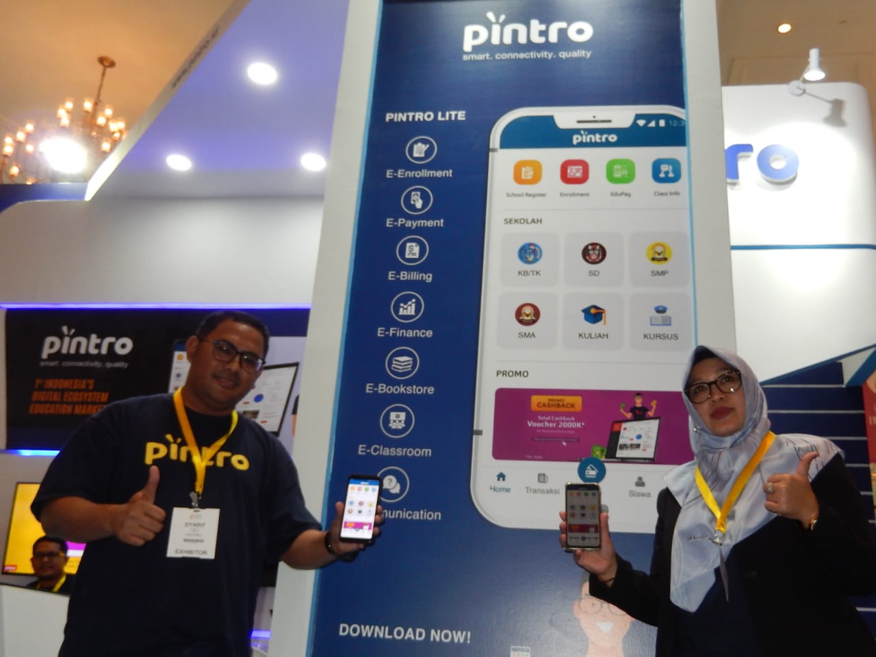 Targeting RI Education Market, Pintro Transaction Reaches IDR 824 Billion