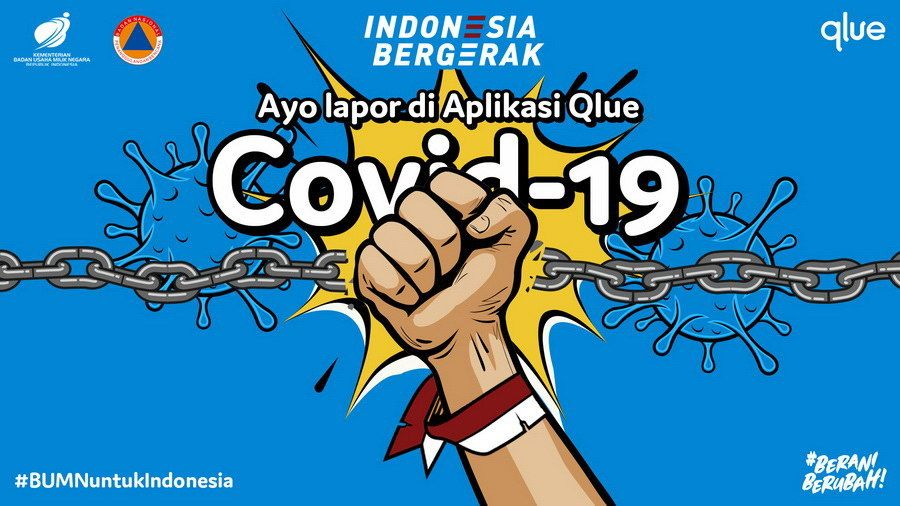 Qlue Launches IndonesiaBergerak.com, a Reporting Platform for Covid-19