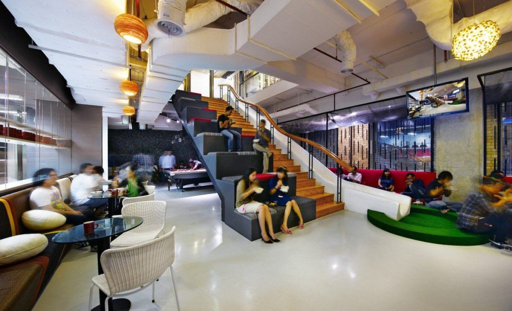 Office design Inspirations for Fun Office Look