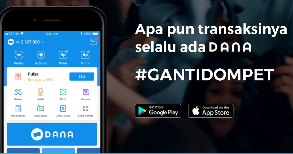 DANA Users Can Register Warung to Get Government Assistance
