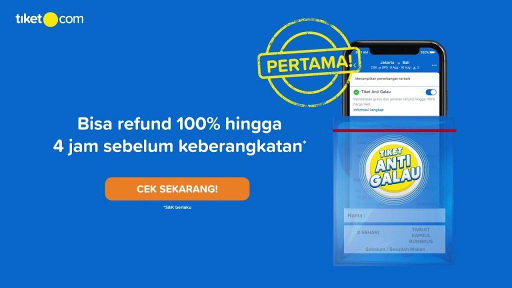 Ticket Cancellation at Traveloka and Tiket.com Goes Up
