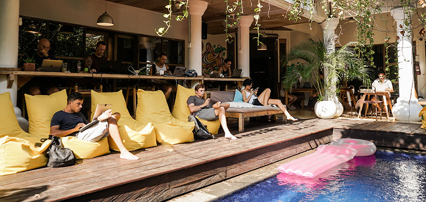 Best Co-Working Space in Bali to Work While Refreshing