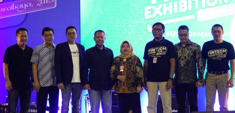 Many Fintech Startup Joined an Exhibition in Surabaya