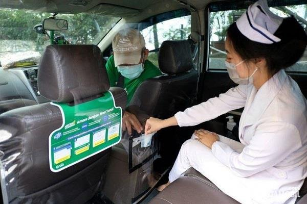 Grab Contribution Special Transportation to Partner's Wife Training