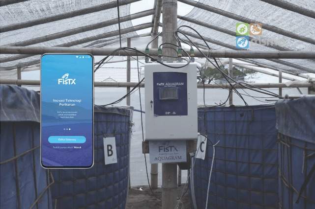 A Yogyakarta-based Startup Offer Touch of Technology in Shrimp Ponds