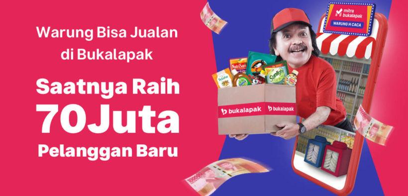 Bukalapak Tactics to Push Transactions of 5 Million Stalls