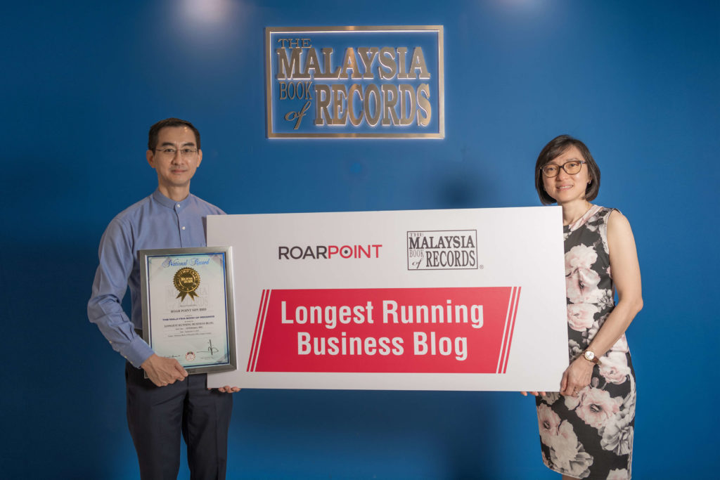 A LONG BLOG ON RAW POINTS EARNS A PLACE IN MALAYSIA BOOK OF RECORDS