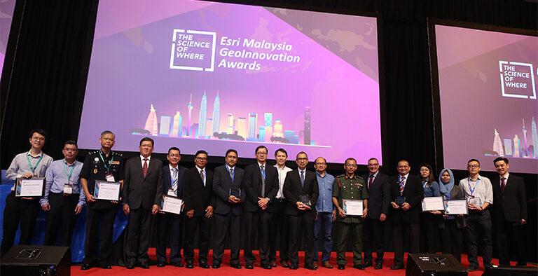ESRI Malaysia awards PETRONAS with Special Achievement in SAG Award