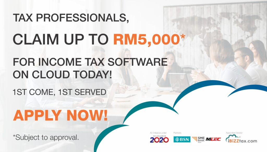 Apply Matching Grant through iBiZZ CLOUD Digitalisation Adoption up to RM5000