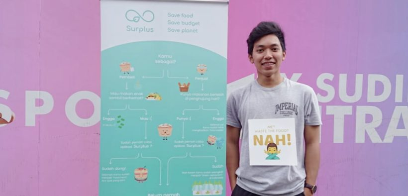 Lots of Food Waste, This Millennial Creates a Surplus.id Startup