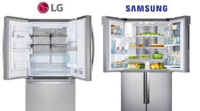 Comparing the Best Smart Refrigerators, Samsung vs LG