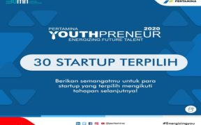 Pertamina Youthpreneur 2020 Has Selected 30 Startups