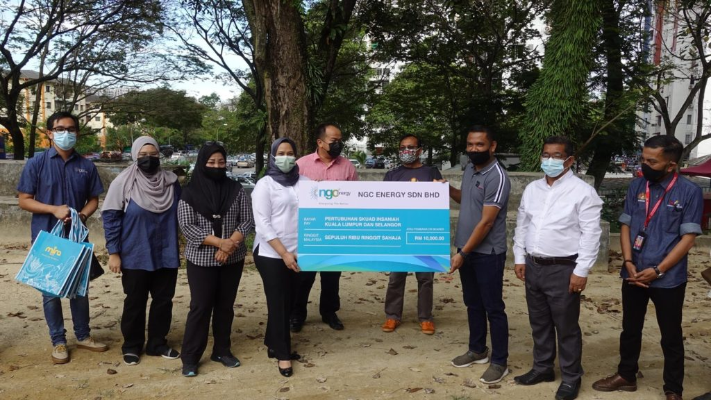 NGC energises 2021 with aid for 180 needy families
