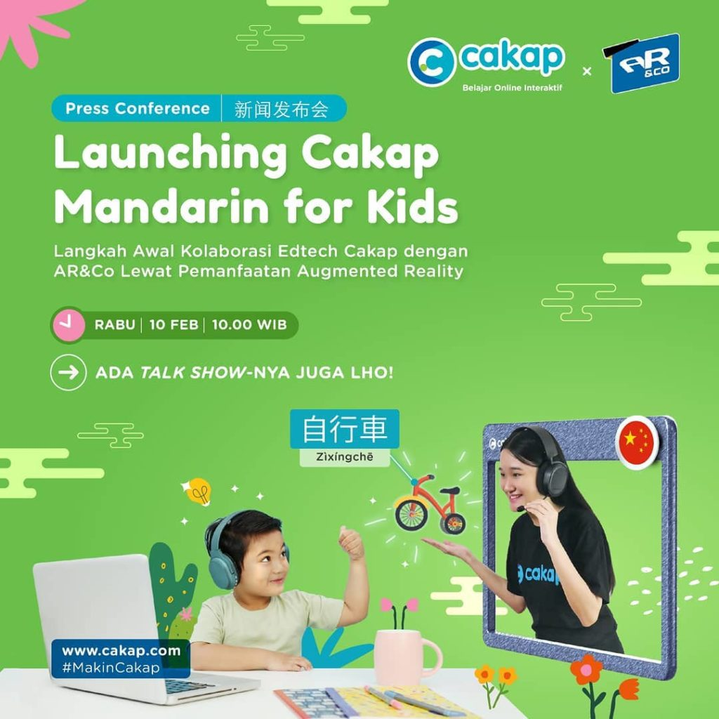 Cakap Collaborates with AR&Co to Bring AR Technology