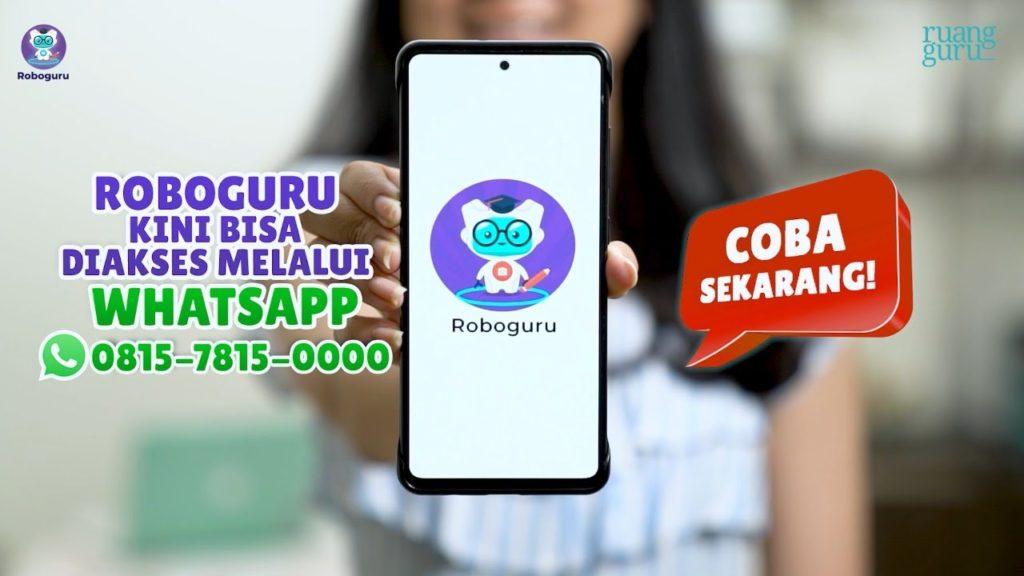 Ruangguru Presents New Innovations in Roboguru Features