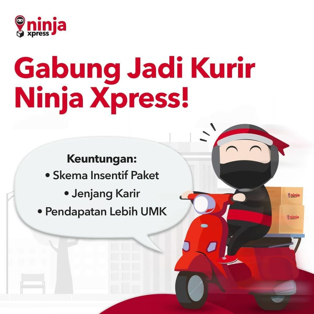 Transactions of Ninja Xpress, Lion Parcel, J&T Soar Because of E-commerce