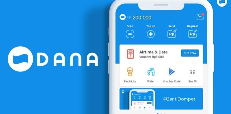 Fintech DANA Transactions Increases Up to 100%