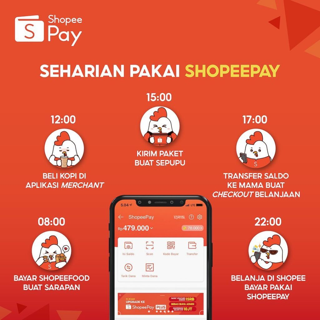 Number of ShopeePay, OVO, and DANA Users Soaring Up to 267%