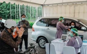 Grab Vaccine Center Banten Provides Drive-Thru and Walk-in Vaccination
