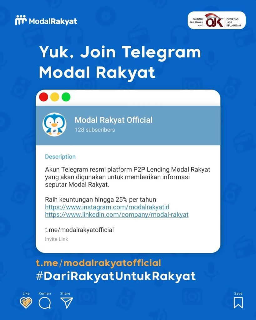 Bukalapak Collaborates with Modal Rakyat, Financing MSMEs