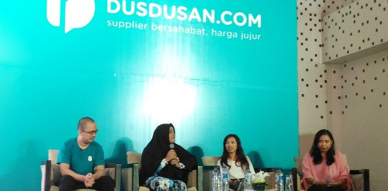 Dusdusan, A Startup to Empower Housewives in Indonesia
