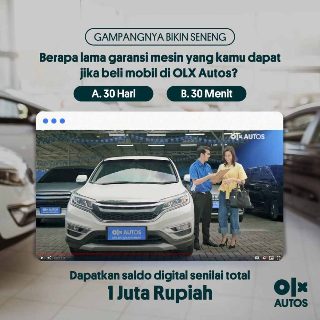 OLX Autos Indonesia Service is Now Available at JD.ID