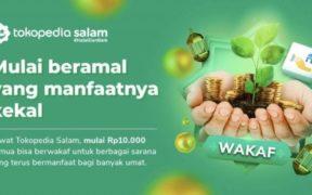 Tokopedia Releases Waqf Feature, Bukalapak Launches Serambi Masjid App