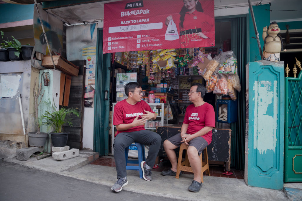 Mitra Bukalapak Ready to Help Warteg Owners' Business Resilience