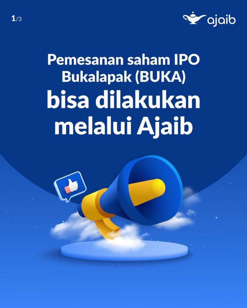 Fintech Ajaib CEO Proud of Bukalapak to Choose IPO in Indonesia