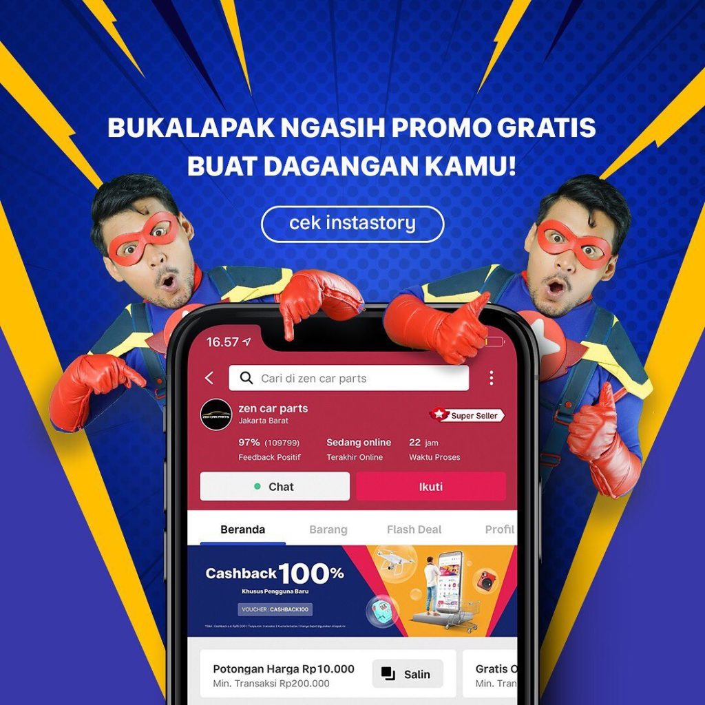 Bukalapak Targets Stalls and City Markets after IPO